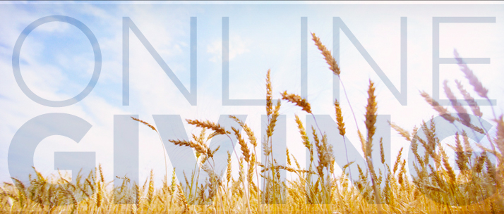 Mt. Pleasant Church Online Giving Landing Page