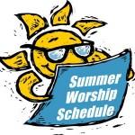 Summer 2018 Schedule
